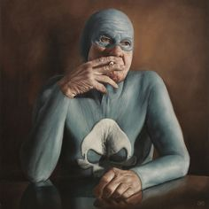 The life of a Superhero – by Andreas Englund by Andreas Englund, via Behance artists, oil paintings, hero arts, heroes, andrea englund, portraits, artist andrea, age superhero, illustr