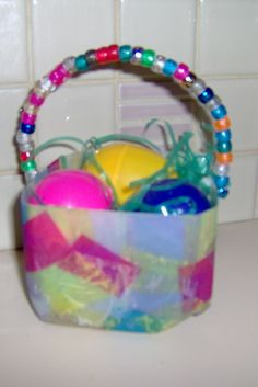 New twist on milk jug basket