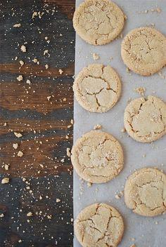 brown butter brown sugar cookies.