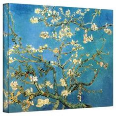 Add gallery-worthy appeal to your walls with this canvas print of Vincent van Gogh's Almond Blossoms. Made in the USA.   Product: Canvas printConstruction Material: Canvas and woodFeatures:  Gallery-wrappedReproduction of art by Vincent van Gogh  Made in the USA