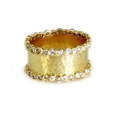 style, gold ring, diamonds, anniversary bands, ippolita, baubl, diamond bands, countess ring, jewelri