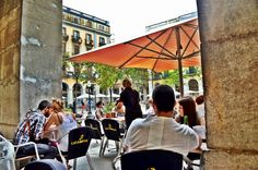 One of my favorite experiences is enjoying a drink and tapas at an outdoor cafe in Spain. There's nothing like the laid back lifestyle in Spain, best seen in its robust cafe culture.