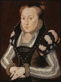 A portrait of Mary Grey, attributed to Hans Eworth, circa 1571. Mary, born crippled, seized her chance at happiness and married for love.