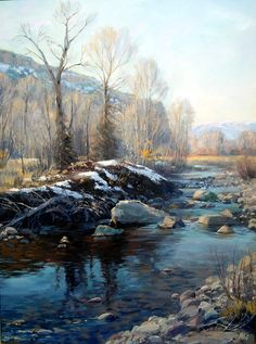 Landscape, by Valoy Eaton Midway Utah artist