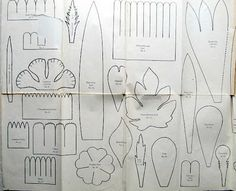 the adventures of bluegirlxo: vintage 1920s dennison crepe paper