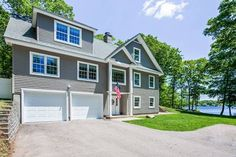 Builder's own lakefront home.  57 Ames Rd, Hebron, CT - Offered by Roy Wrenn - http://www.raveis.com/mls/G653709/57amesrd_hebron_ct