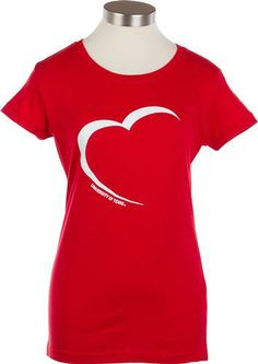 Ladies UT Heart T-Shirt