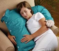 Snuggle Pillow - for me when Nathan's away...