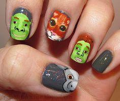 Polish Art Addiction: Shrek Fail
