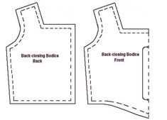 How to make a Bodice pattern