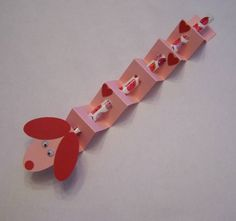 Valentine Pencil Dachshund. Cute for school kid gifts.