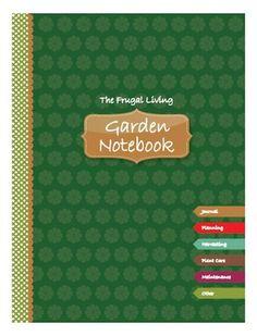 Printable Garden Notebook