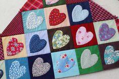 DSC04242 by dutch blue, via Flickr...hearts quilt