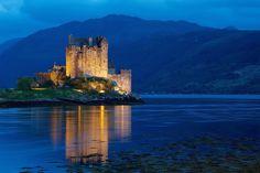 Eilean Donan Castle, Scotland (by Perry McKenna)