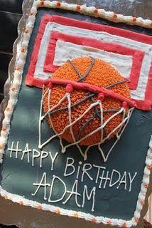 basketball cake!