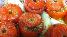 Stuffed tomatoes - Domate te mbushura