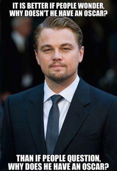 Leonardo DiCaprio still wins...