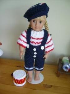 doll patterns, american girl, crochet pattern