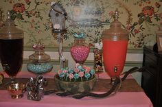 #Bird Themed Wedding Shower Candy Buffet