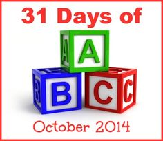 31 Days of ABCs  | The Jenny Evolution