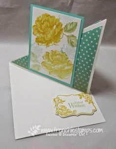 Stamp & Scrap with Frenchie: Easy Diagonal Easel