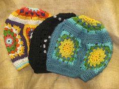 Bertie Mae (Granny Square Hat)