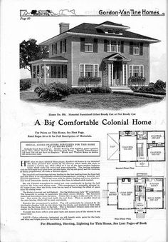 colonial home -so similar to our 1938 floorplan