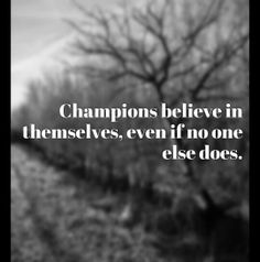 Becoming a champion #quotes #inspiration