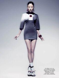 DRESS TO KILL MAGAZINE:  Fashion styling: Nadia Pizzimenti, Judy Inc/  Makeup and hair: Sabrina Rinaldi, Judy Inc