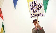 loud art, inspir art, bob and roberta smith, bobs, art bobandrobertasmith, art lesson, bobandrobertasmith britart