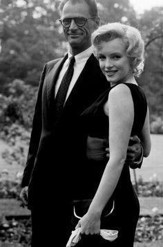 Marilyn Monroe & Arthur Miller//