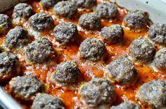 Bite Sized Baked Meatballs
