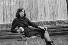 Patricia Highsmith, not suffering fools gladly or otherwise.