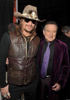 Kid Rock and Robin Williams