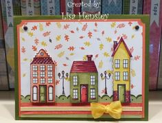 stamp sets, papercraft, fall cards, su holiday, hous, paper crafts