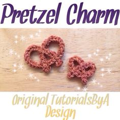 NEW Original TutorialsByA Rainbow Loom Pretzel Charm