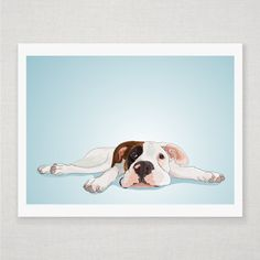 Personalized pet portrait. = awesome.