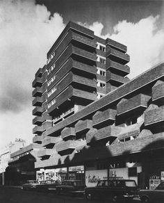 Consort House, Queensway, London, UK, 1972