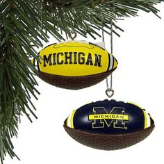 U of M Football Ornaments
