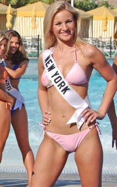 Miss Teen USA 2004 (Top 10), New York, Catherine Muldoon m.1 #KyFun from Beauty Paegant board swimsuit pool pink bikini