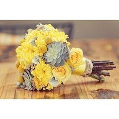 Grey and Yellow Wedding Ideas
