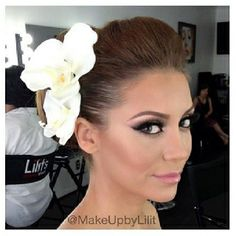 Wedding makeup... too much!? I really like her eyes