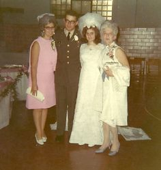 Then-Pvt. Leslie Sabo and his new wife, Rose Mary, pose with other family members at their wedding in Pennsylvania, Sept. 13, 1969. Sabo had to return to training the next day. He deployed to Vietnam with Company B, 3rd Battalion, 506th Infantry Regiment, 101st Airborne Division in November and was killed in Cambodia while saving the lives of others, May 10, 1970, actions for which he will be posthumously awarded the Medal of Honor, May 16. (Photo courtesy of Rose Mary Sabo-Brown)