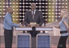 "The time he caught a contestant staring at a woman's chest. | The 22 Best Reactions From Steve Harvey On ""Family Feud"""