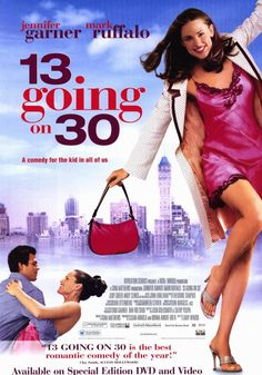 13 going on 30 movie | 13 Going On 30 Movie Posters From Movie Poster Shop