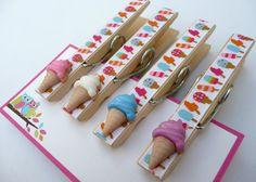 cute craft idea. clothespins