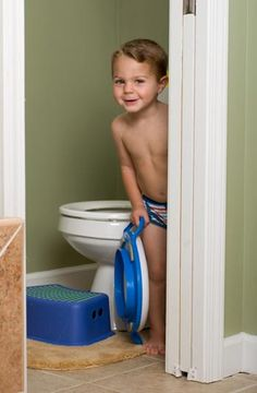 Potty Training Tricks for Boys