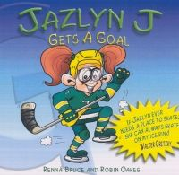 While trying to get her very first goal in hockey, Jazlyn soon finds out that once you set your mind to something, it will happen. A lesson in getting and setting goals. Foreword written by Walter Gretzky.