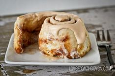 Cinnamon rolls with a secret ingredient - cake mix.  Easy and delicious!