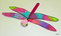 Tippytoe Crafts: Dazzling Dragonflies